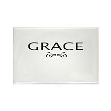 Grace Rectangle Magnet