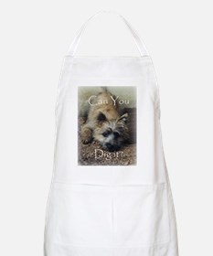 Cairn Terrier Dig It! BBQ Apron