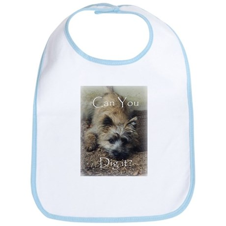Cairn Terrier Dig It! Bib