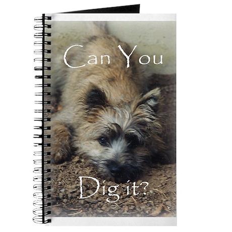 Cairn Terrier Dig It! Journal
