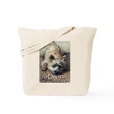 Cairn Terrier Dig It! Tote Bag