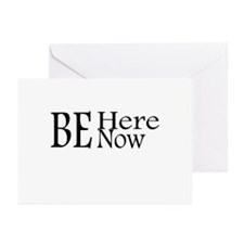 Be Here Now Greeting Cards (Pk of 10)