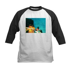 Crazy Flame Motorcycle Man on Tee