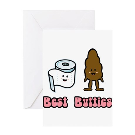Best Butties Greeting Card