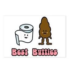Best Butties Postcards (Package of 8)