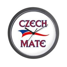 CZECH MATE Wall Clock