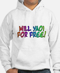 Will Yaoi For Free Hoodie