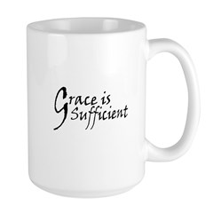Grace is Sufficient Large Mug