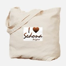 I Love Sedona Tote Bag