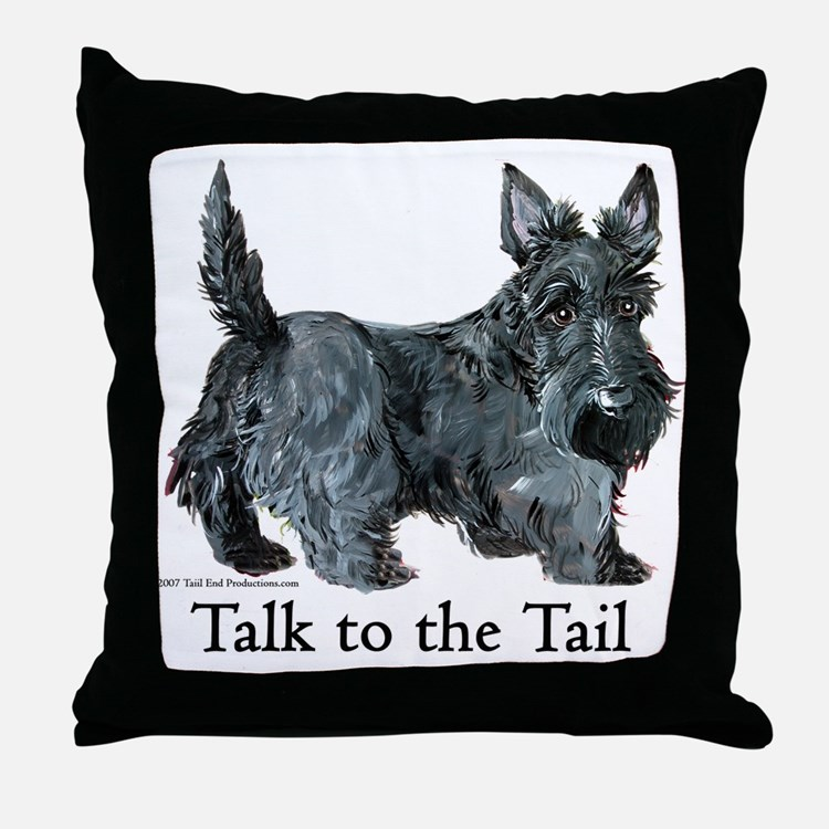 Scottie Dog Pillows, Scottie Dog Throw Pillows & Decorative Couch Pillows