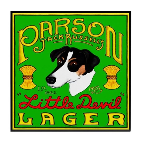 Parson Russell Terrier Tile Coaster