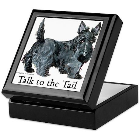 Scottish Terrier Attitude Keepsake Box