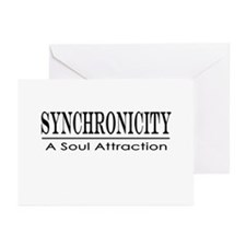 Tolle Synchronicity Greeting Cards (Pk of 20)