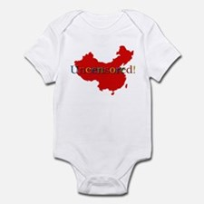China Internet Search Uncensored Infant Bodysuit