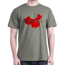 China Internet Search Uncensored T-Shirt