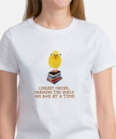 Library Chick Women's T-Shirt