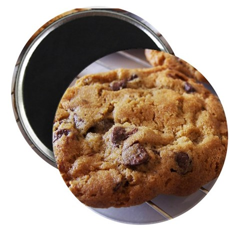 """Chocolate Chip Cookies 2.25"""" Magnet (100 pack)"""
