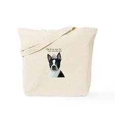 Boston Terrier Princess Tote Bag