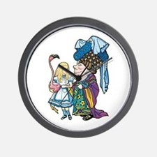 Alice and the Duchess Wall Clock