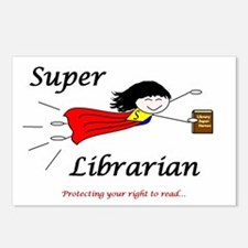 Library Chick Postcards (Package of 8)