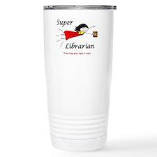 Library Chick Travel Coffee Mug