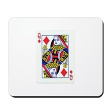 Queen of Diamonds Mousepad