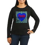 Psychic Women's Long Sleeve Dark T-Shirt