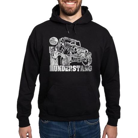 Jeep TJ Wrangler Hoodie (dark)