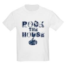 Rock the House Blue T-Shirt
