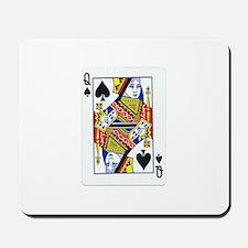 Queen of Spades Mousepad
