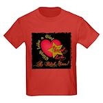 Send Like a Rock Star Kids Dark T-Shirt