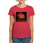 Send Like a Rock Star Women's Dark T-Shirt