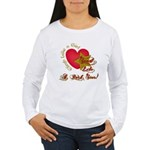 Send Like a Rock Star Women's Long Sleeve T-Shirt