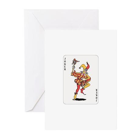 Joker Greeting Cards (Pk of 10)