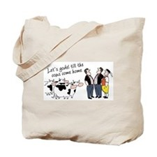 Yodel Till the Cows Come Tote Bag