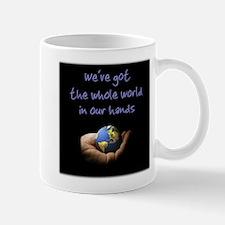 Whole World (blue) Mug