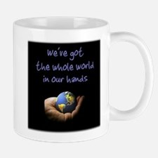 Whole World (blue) Small Small Mug