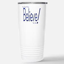 Believe! (blue) Travel Mug