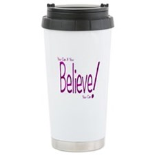 Believe! (purple) Travel Mug