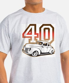 '40 Ford Red/Tan T-Shirt