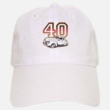 '40 Ford Red/Tan Baseball Baseball Cap