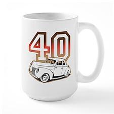 '40 Ford Red/Tan Mug