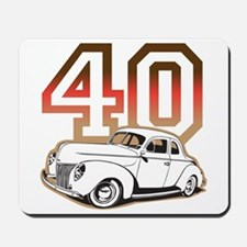 '40 Ford Red/Tan Mousepad