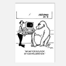 Evolution Cartoon 2839 Postcards (Package of 8)