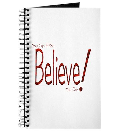 Believe! (Red) Journal
