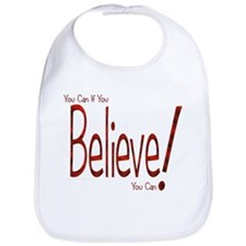 Believe! (Red) Bib