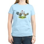 Ameraucana Chicken Pair Women's Light T-Shirt