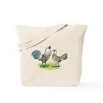Ameraucana Chicken Pair Tote Bag