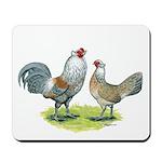Ameraucana Chicken Pair Mousepad