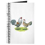 Ameraucana Chicken Pair Journal